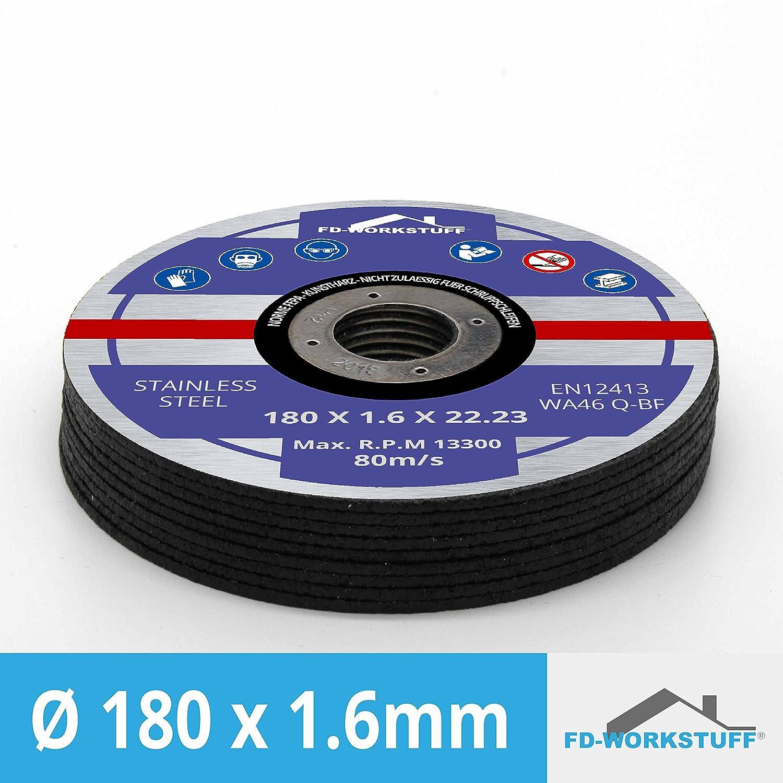 Merryland 125 X 1.0 Expert-line Cutting Disc INOX Stainless Steel Metal 25PCS