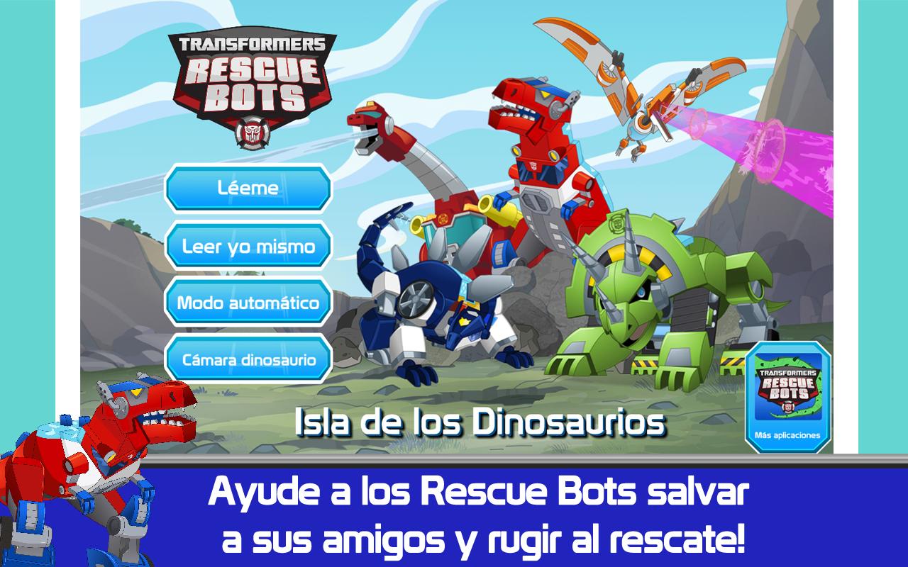 Transformers Rescue Bots: Isla de los Dinosaurios: Amazon