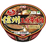 日清麺ニッポン 信州王様辛味噌ラーメン 116g×12個