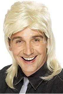 Amazon.com  Rubie s Humor Blond Mullet Shoulder Length Wig ce86032f1f