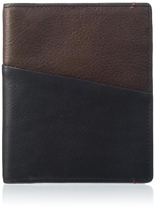 Fossil Passport, Portefeuilles homme, Schwarz (Black), 1.9x14.2x12 cm (B x H T)