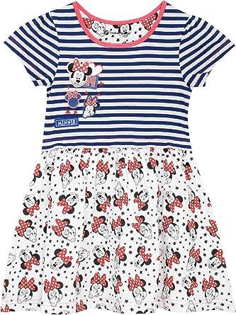 Disney Minnie Mouse - Vestido para Niñas - Minnie Mouse: Amazon.es: Ropa y accesorios
