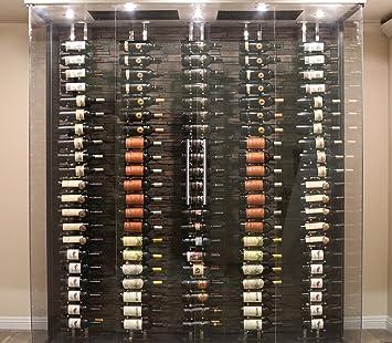 Amazoncom Ultra Wine Racks Floor To Ceiling Mount 1 Side 2 Post