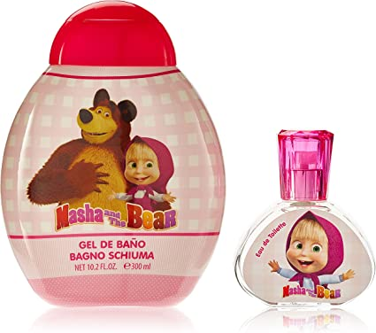 Masha and the Bear Conjunto y Gel de Ducha - 1 pack: Amazon.es: Belleza