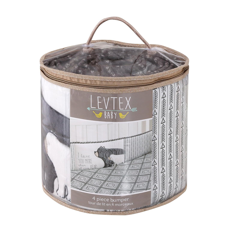 3d25feb11 Amazon.com   Levtex Baby Bailey Charcoal Arrow Print Lamp Shade and ...