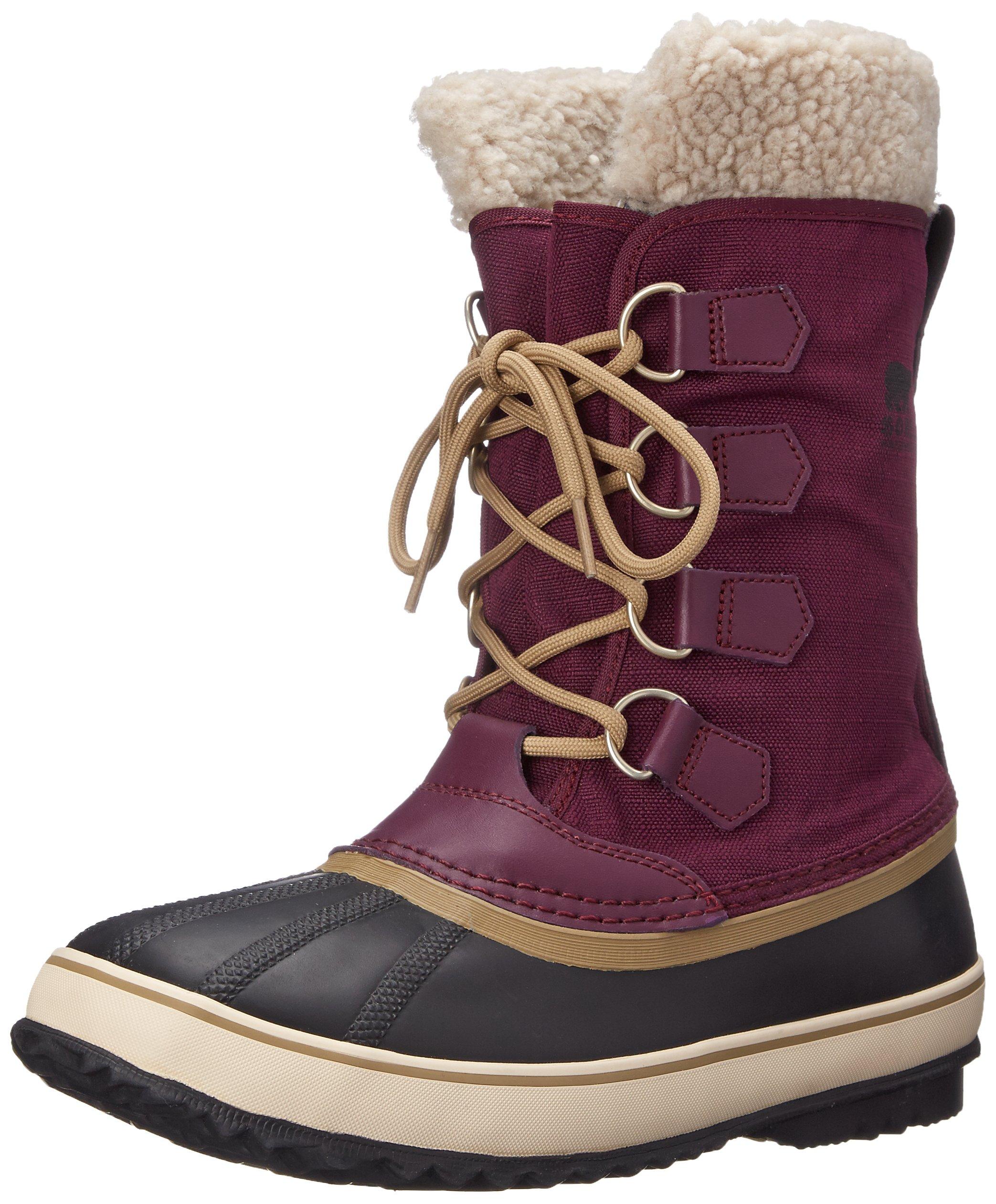 Sorel Women's Winter Carnival Boot, Purple Dahlia, 10 M US