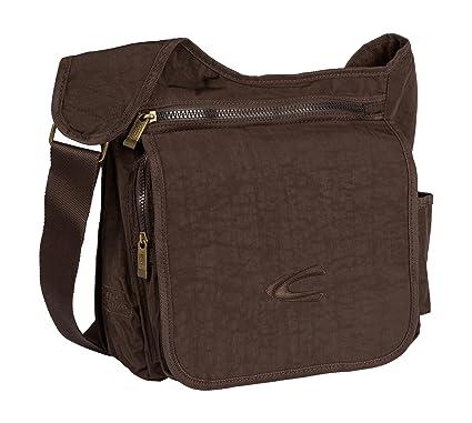 b427d5323d camel active Journey Shoulder Bag 31 cm Brown Size  32x30x10  Amazon.co.uk   Luggage