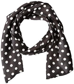 amscan nifty 50u0027s theme party polka dot scarf 10 pack blackwhite