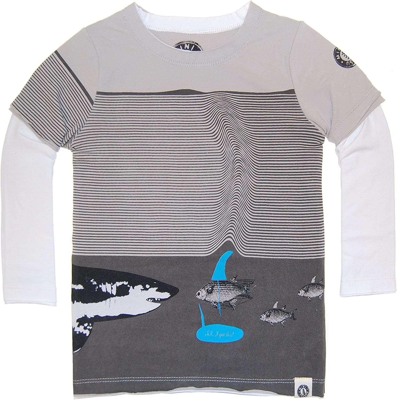 Mini Shatsu Chill Like A Fish Twofer T-Shirt