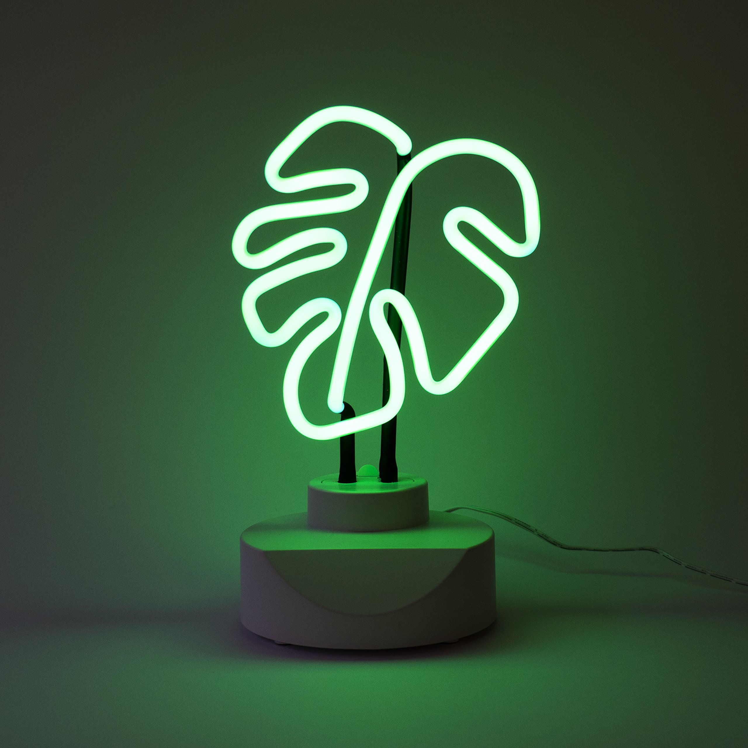 Oliver Gal |Home Tabletop Neon Sign |Original Handmade Neon Table Light. Modern Home Accent. 6x11 inch, Green