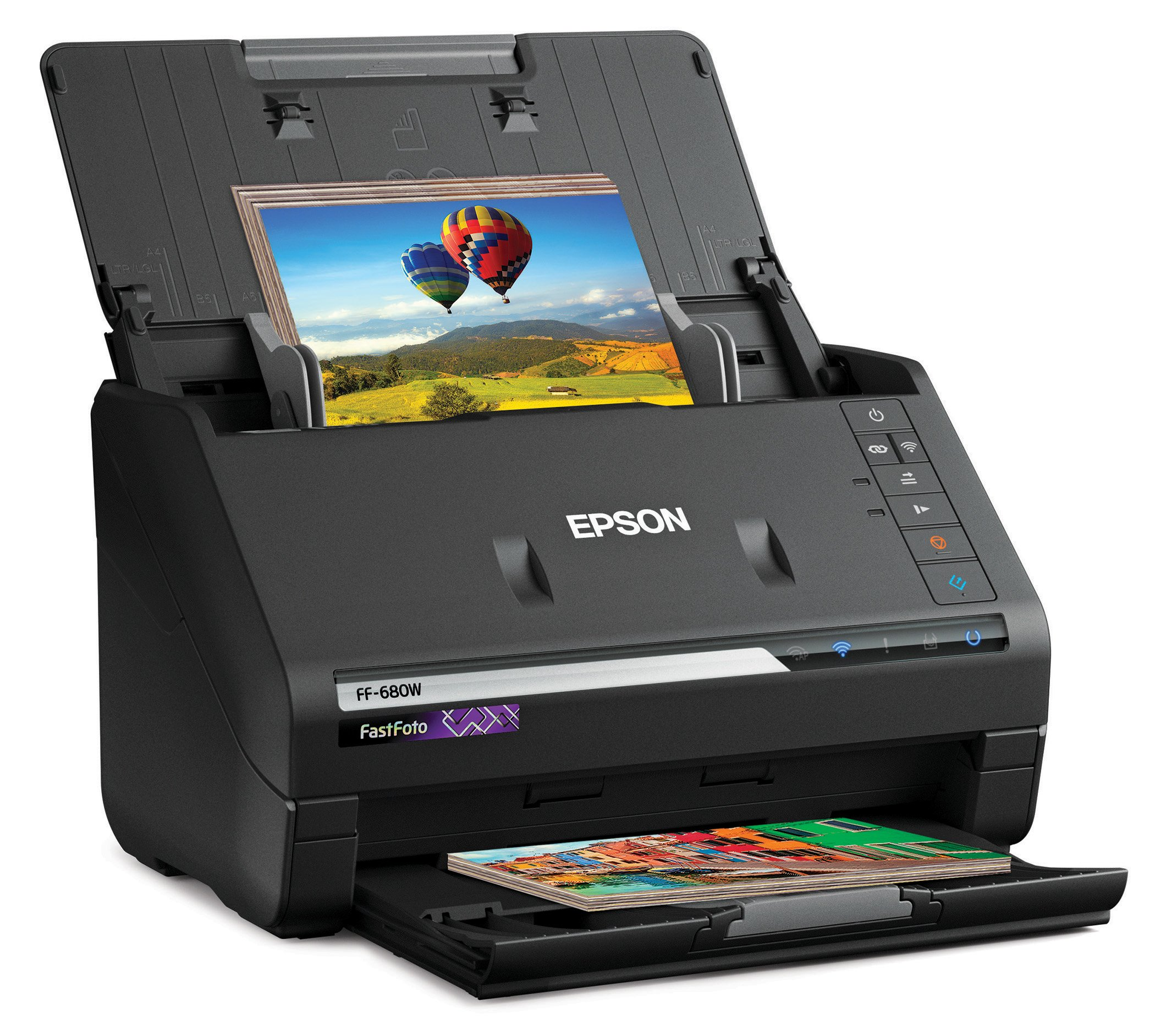 Epson FastFoto FF-680W Wireless High-Speed Photo and Document Scanning System by Epson
