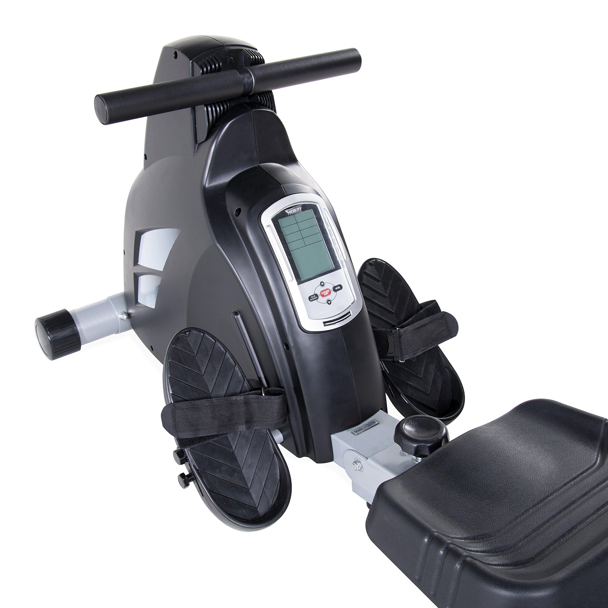 Velocity Exercise Magnetic Rower, Black by velocityexercise (Image #2)