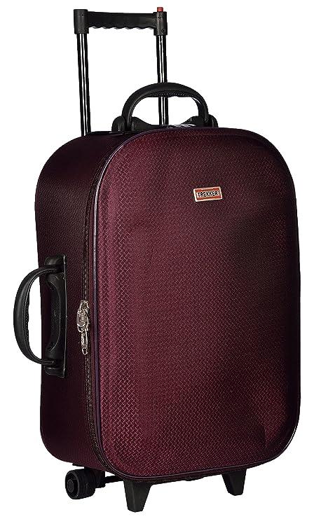 Trolley Bag Polyester Matty 62 cms Purple Softsided Check in Bag  TTB NICE24 PL