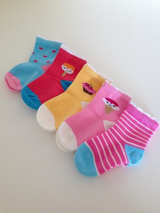 Dulces de helado y tartas calcetines de bebé disponible en edad 0 – 7years en 4