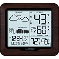La Crosse Technology 308-1417BL Backlight Wireless Forecast Station with Pressure