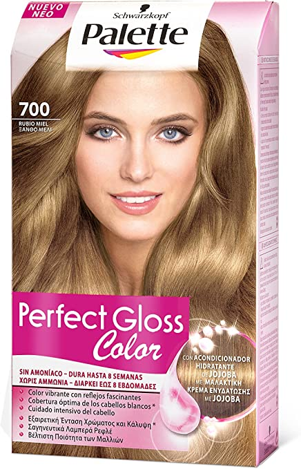 Palette Perfect Gloss 1862140 - Coloración semipermanente/baño de color, tono 700 - [paquete de 3]
