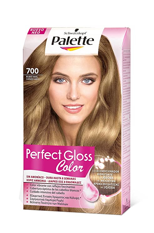 Palette Perfect Gloss Coloración Semipermanente/Baño de Color, Tono 700-115 ml