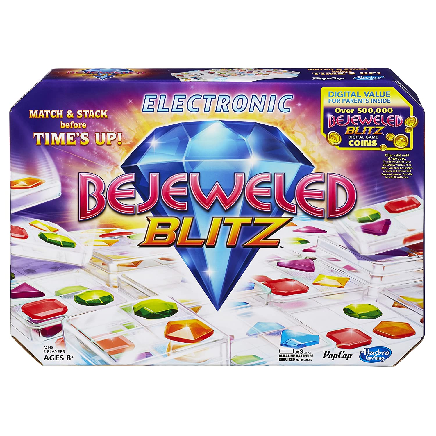Bejeweled Blitz Game by Hasbro
