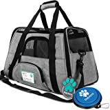 PetAmi Premium Airline Approved Soft-Sided Pet Travel Carrier | Ventilated, Comfortable Design with Safety Features…