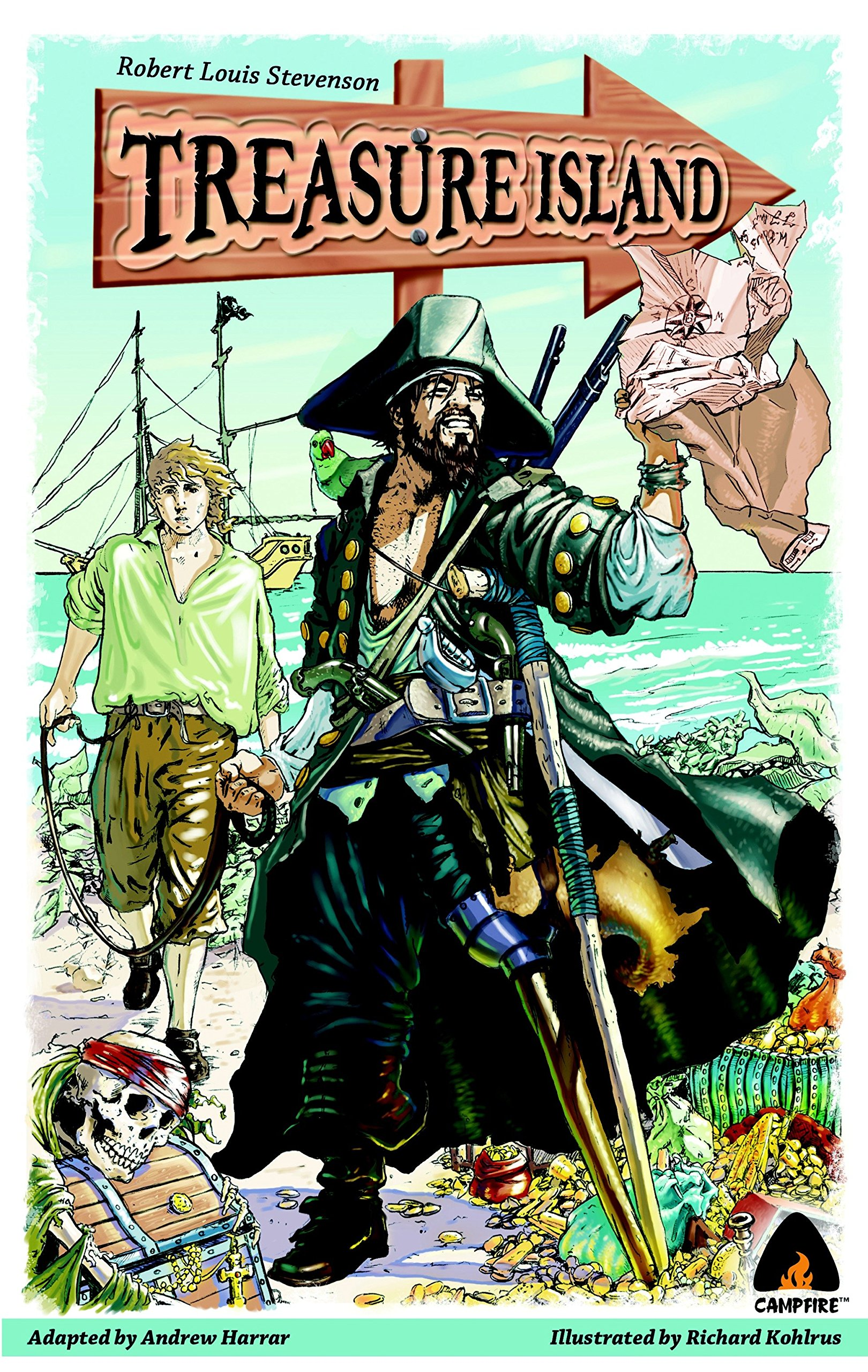 Treasure Island: The Graphic Novel (Campfire Graphic Novels) pdf