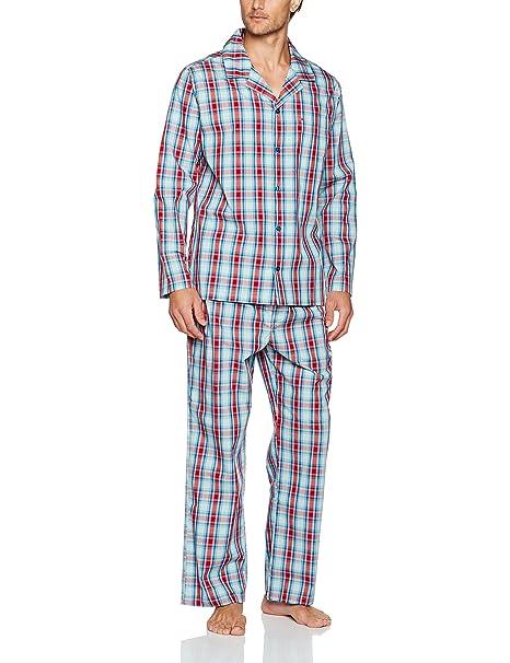 Seidensticker Pyjama Lang, Conjuntos de Pijama para Hombre