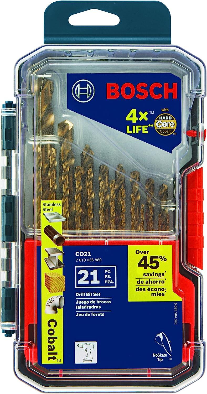 Bosch Cobalt Drill Bit Set