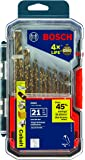 Bosch 21 Piece Cobalt Metal Drill Bit Set CO21