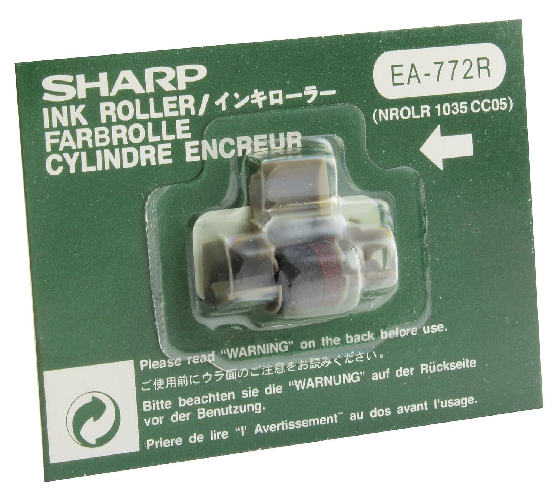 Farbrolle Tintenrolle schwarz für Sharp EL 1750 P Sharp EL 1750 P II