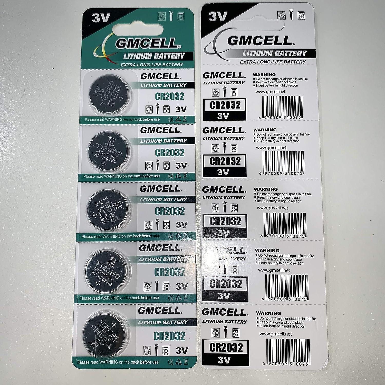 CR2032 Lithium Coin Cell 5 Pack! 3V