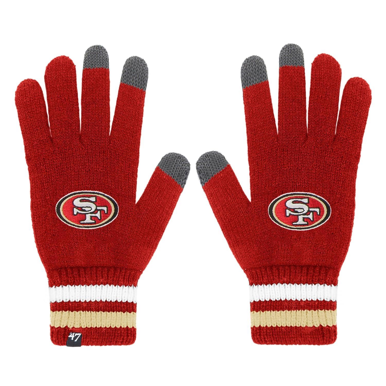 size 40 1493b bb9db Amazon.com    47 NFL Houston Texans Jumble Gloves, One Size, Navy   Sports    Outdoors