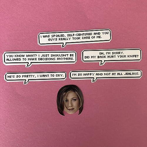 Amazon.com: Rachel Green Friends Quotes Sticker Set: Handmade