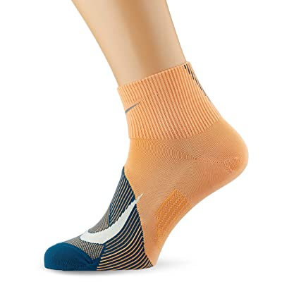 Amazon.com : Nike Men`s Spark Lightweight Quarter Running Socks 1 Pair : Sports & Outdoors