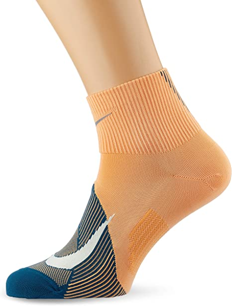 immediato Emulare Deviazione  Amazon.com : Nike Men`s Spark Lightweight Quarter Running Socks 1 Pair :  Clothing
