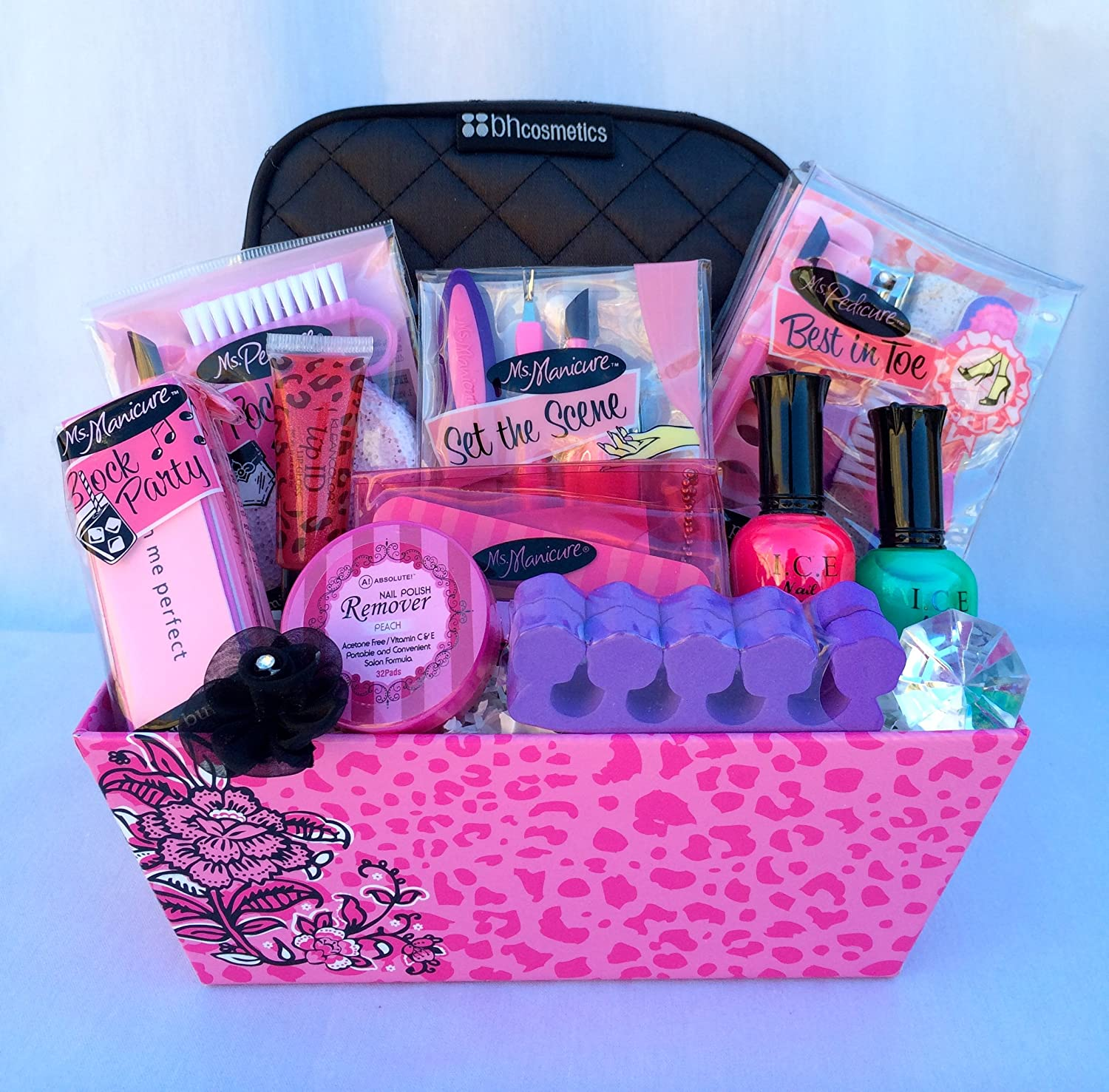 Amazon.com  Pampered Teen Makeup Gift Basket  Makeup Sets