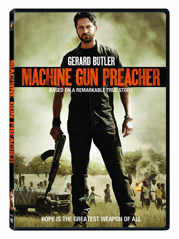Amazon Com Machine Gun Preacher Gerard Butler Michelle Monaghan