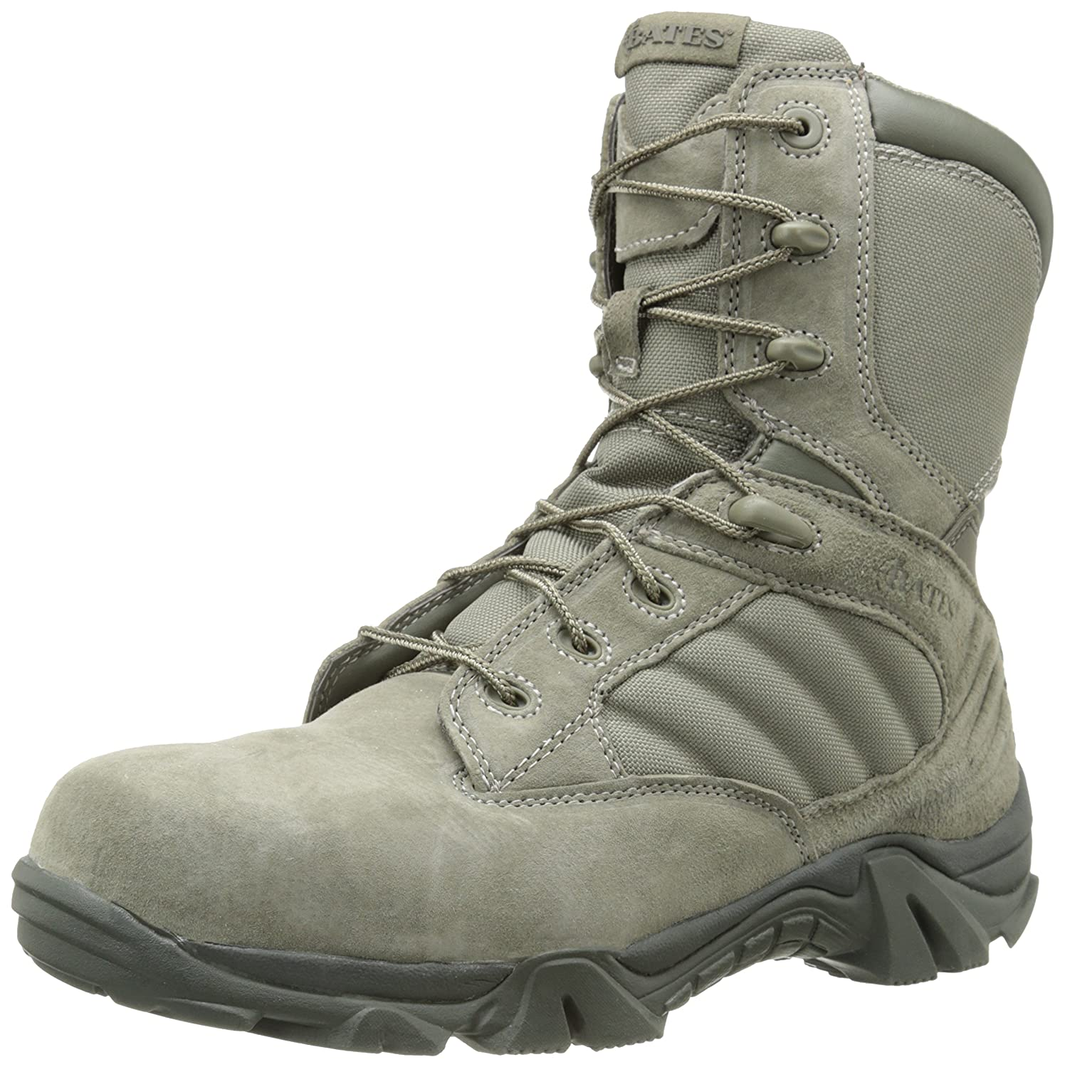942fc6bd4e8 Amazon.com  Bates Men s GX-8 Comp Toe Side Zip Work Boot  Shoes