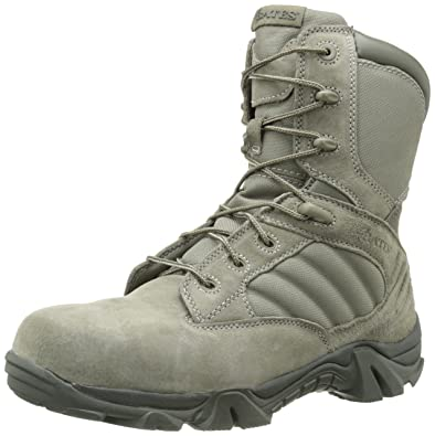 9ad285beb40 Amazon.com  Bates Men s GX-8 Comp Toe Side Zip Work Boot  Shoes