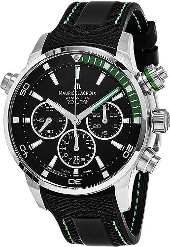 Maurice Lacroix Reloj de hombre automático 44mm PT6018-SS001-331-1: Maurice Lacroix: Amazon.es: Relojes