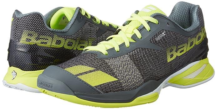 BABOLAT Men's Jet Clay Court Shoe, Grey, EUR 45 US 11: Amazon.ca: Shoes &  Handbags
