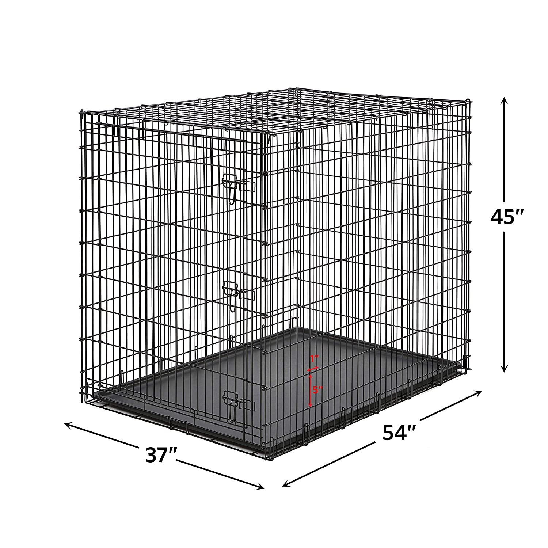 MidWest Homes for Pets - Jaula Gigante para Perro XXL, 54 Pulgadas ...
