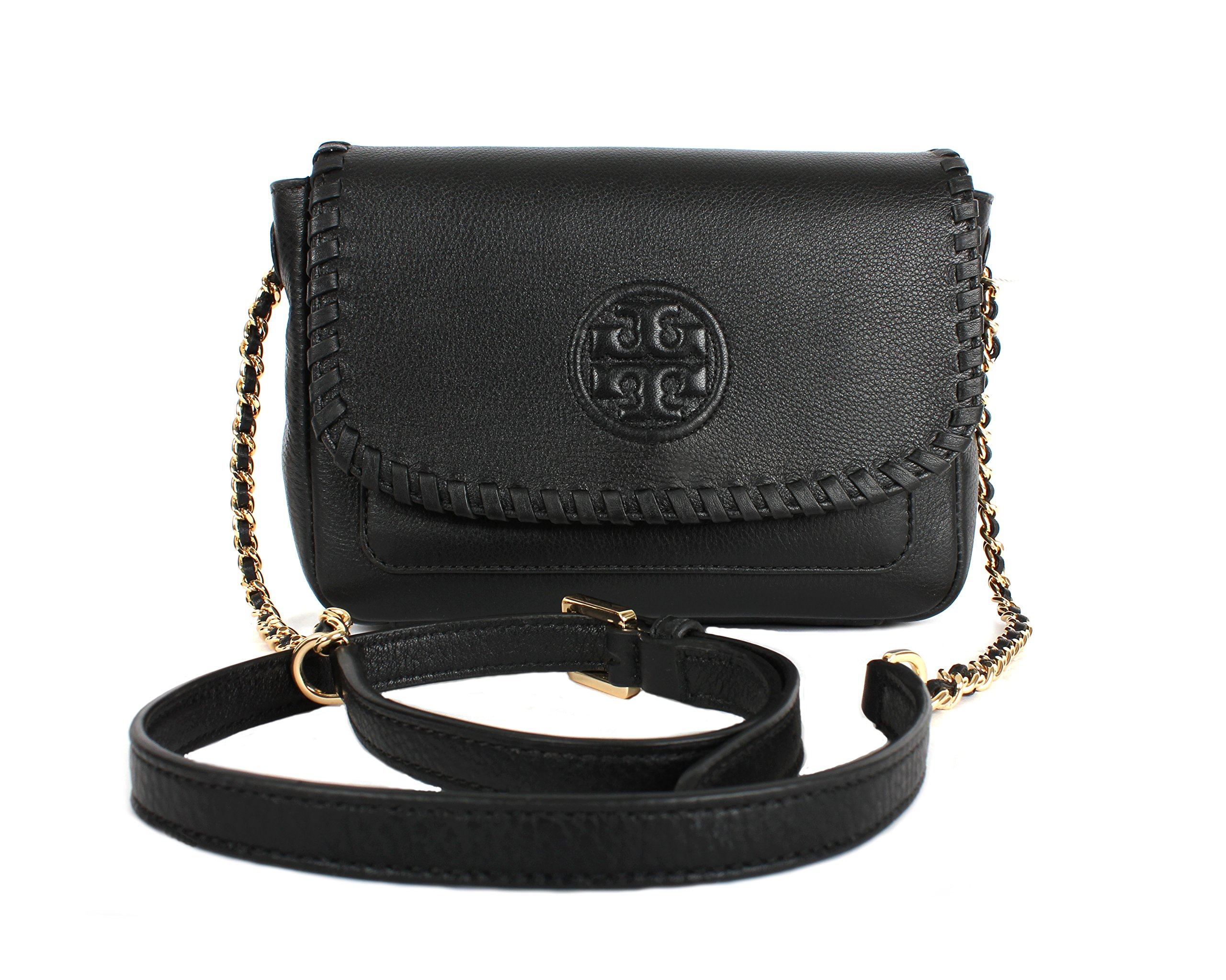 Tory Burch Marion Mini Bag, Black, Style No. 40804 by Tory Burch