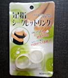 magnetic toe ring for slimming weight loss