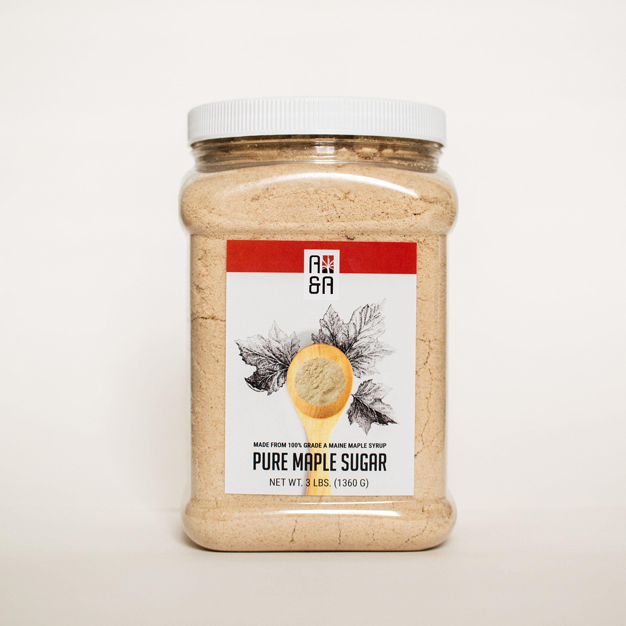 Pure Maple Sugar - 48 Oz - A&A Maple by Maple