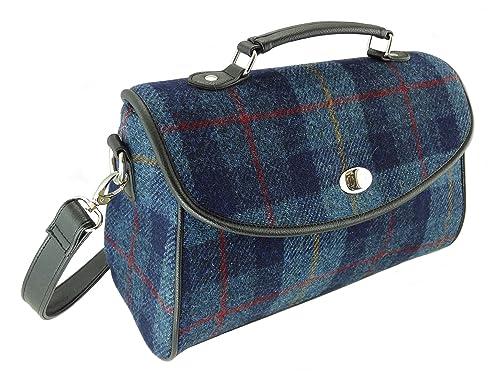 608f91113d2 Ladies 100% Harris Tweed Calder Satchel Bag LB1021 5 Colours Available (COL  14): Amazon.co.uk: Shoes & Bags