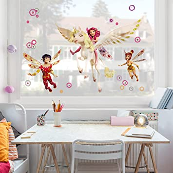 Fenster Aufkleber Mia and Me – Mia Yuko und Mo, Kinderzimmer ...