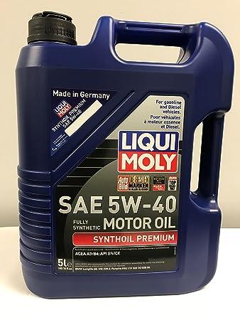 Liqui Moly (2040-12PK Premium 5W-40 Synthetic Motor Oil - 1 Liter