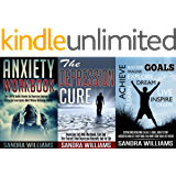 Depression And Anxiety Self Help Bundle: Anxiety Workbook + The Depression Cure + S.M.A.R.T. Goals (Depression And Social Anxiety Kindle Self Help Books, Panic Attacks & Shyness Cure 1)