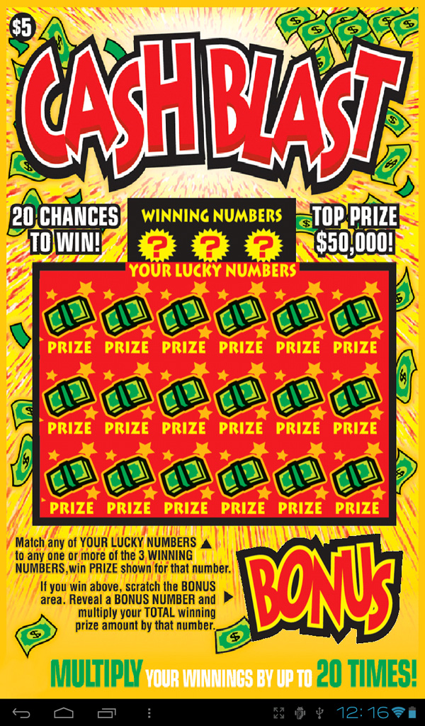 Toy Blast Update For Kindle : Cash blast lotto video scratch card amazon