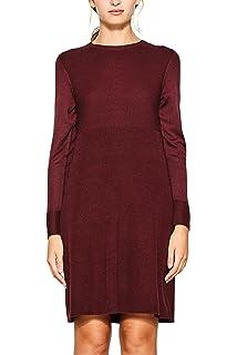 ESPRIT Collection Damen Kleid 018EO1E001: : Bekleidung