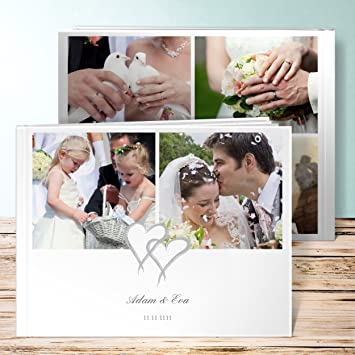 Hochzeitsfotobuch Selbst Gestalten Mein Herz 76 Seiten 38 Blatt